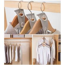Hanger Connection-Hook Cloth Space-Saving-Hanger Multi-Layer Magic Plastic with Closet