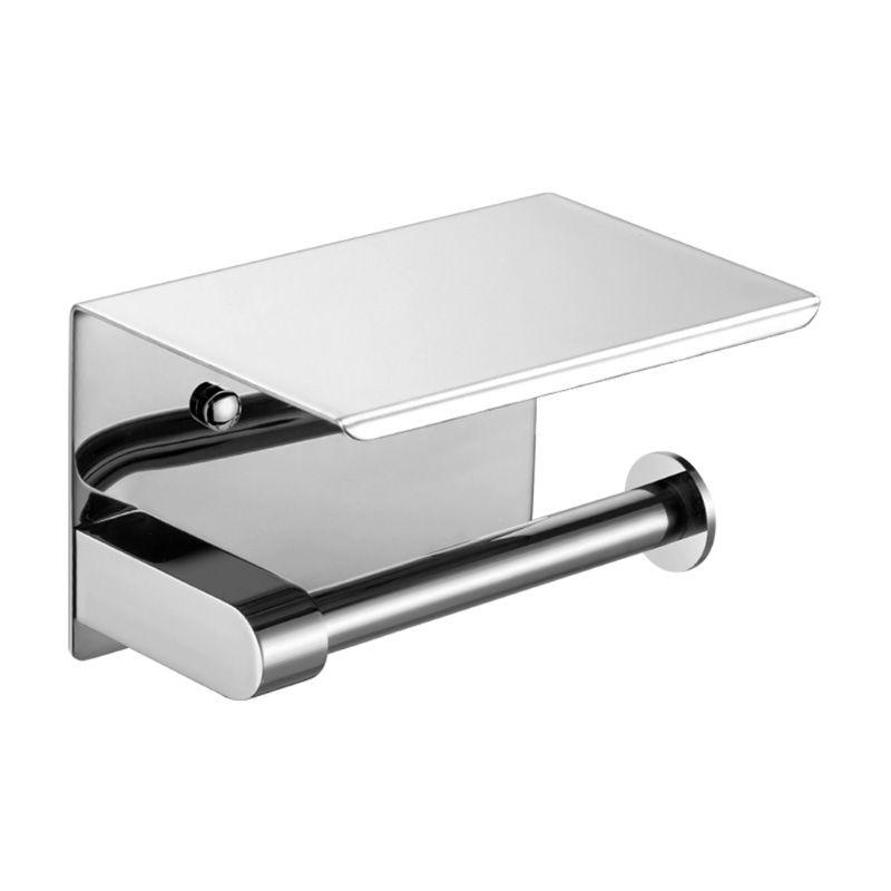 2020 Новинка 304 держатель для туалетной бумаги из нержавеющей стали, держатель для ванной комнаты, вешалка для полотенец, полка для телефона|Держатели бумаги|   | АлиЭкспресс