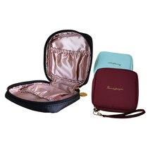 Personalidade portátil bolsa cosmética feminina bolsa de maquiagem saco de higiene pessoal moda necessaries compõem organizador caso cb036
