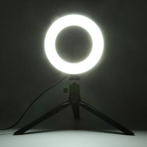 Image 4 - 16cm LED Dimmable יופי Selfie טבעת אור מנורת w/טלפון קליפ מחזיק חצובה מקצועי לחיות סטודיו צילום אבזרים