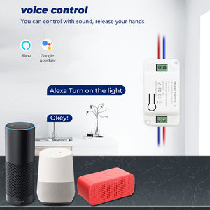 Image 4 - SMATRUL Tuya ścienny inteligentny APP WiFi włącznik światła 1/2/3 Gang bezprzewodowy RF 433Mhz Push przycisk DIY moduł przekaźnika czasowego przekaźnika Google Alexa domu