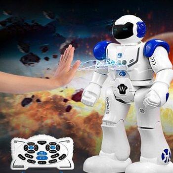 OCDAY Robot USB Charging Dancing Gesture Action Figure Toy Robot Control RC Robot Toy for Boys Children Birthday Gift original jjrc r2 r11 rc robot singing dancing cady wida intelligent gesture control robots toy action figure for children toys