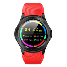 Dm368 Plus Smart Watch Bluetooth Smartwatch 4G Mt6739 Android 5.1 Quad Core Wristwatch With Heart Rate Gps Wifi(Red) for ios dehwsg gps smart watch phone dm368 android 5 1 quad core 512mb 8gb wearable devices support 3g wifi heart rate wristwatch pk x5
