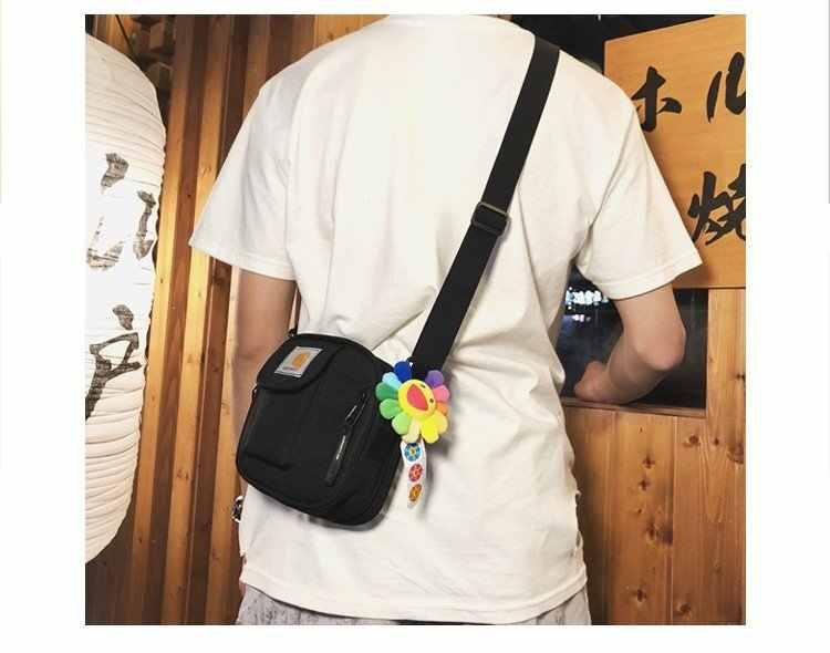 Shang Zhen การค้าต่างประเทศ INS AliExpress กระเป๋าสะพาย COUPLE'S กระเป๋าสะพายชายและหญิง Hip Hop กระเป๋า Carhartt กระเป๋า