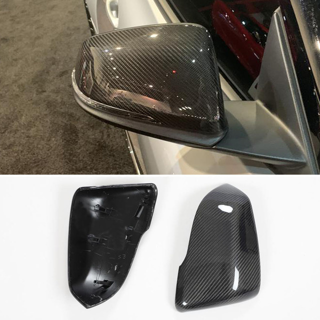 Carbon Fiber Rearview Mirror Covers For BMW 1 2 X1 Z4 Series F52 F45 F46 F45 F48 F49 Z4 For Toyota Supra Side Mirror Caps Covers