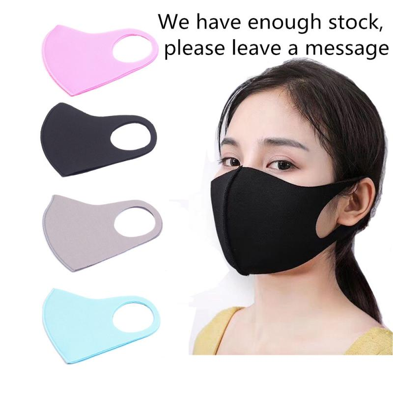PM2.5 Dustproof Mouth-muffle Anti-particle Breathable Mask Anti Haze Fog Masks Washable Reusable Mouth Mask Winter Face Masks