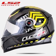 LS2 FF358 полный уход за кожей лица moto rcycle шлем Alex Barros moto cross racing casco moto capacete ls2 ECE утвержден