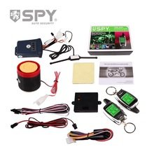 2020 SPY 2 Way Motorcycle Alarm System with Remote Engine Start Starter Microwave Sensor Colorful LCD Pager Display