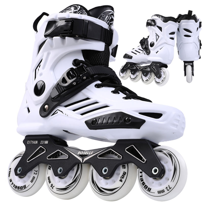 100% Originele Powerslide Skate Frame 3*110mm 255mm Met 110mm Powerslide Schaatsen Wielen Voor 165mm Afstand Patines Base - 2
