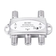 DISEQC SWITCH - SWITCH 4 X 1 HIGH PERFORMANCE FOR UP TO 4 ANTENNAS. SAT(China)