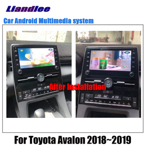 Image 3 - Car Android Multimedia Player For Toyota Avalon XX50 2018 2019 2020 Stereo radio Original Screen video GPS Map Navigation System