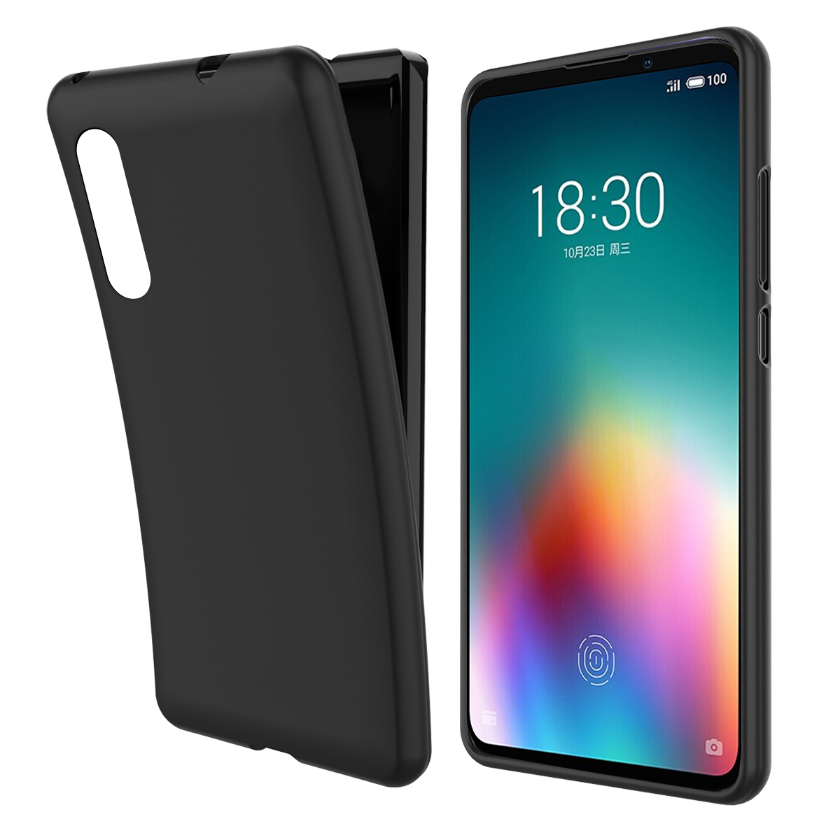 For <font><b>Meizu</b></font> 16T Case Shockproof Ultra Slim Fit Soft TPU Bumper <font><b>360</b></font> Degree Protective Silicon Cover For <font><b>Meizu</b></font> <font><b>16</b></font> T 16T Case Armor image