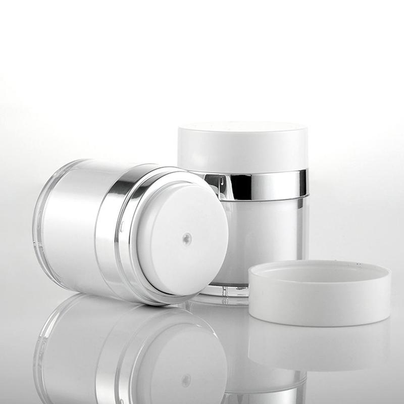 Vacuum Sterile Cream Bottle Cosmetic Jar Airless Cosmetic Container Portable Travel Cream Facial Cleanser Cosmetic Bottling