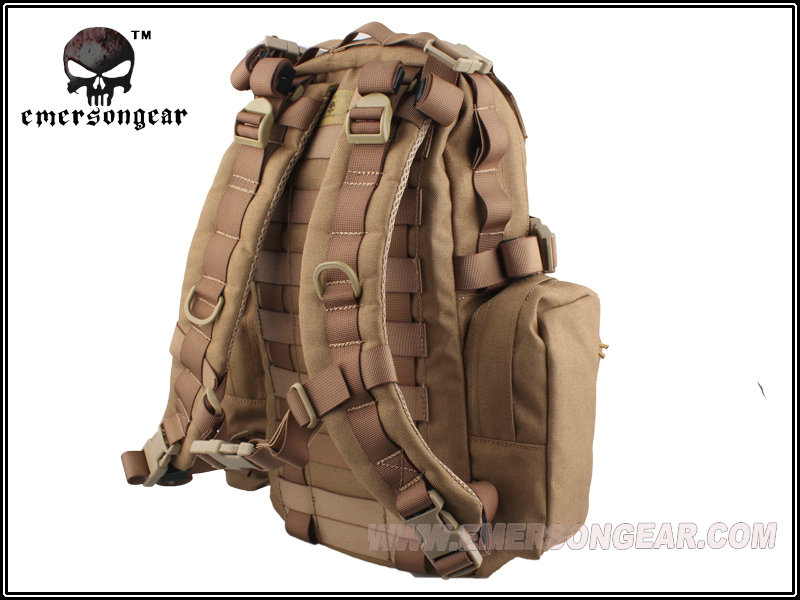 emersongear Emerson Assault Tactical Backpack Yote Hydration Water Proof Military Army Outdoor Sports Bag Hiking Hunting CB in Climbing Bags from Sports Entertainment