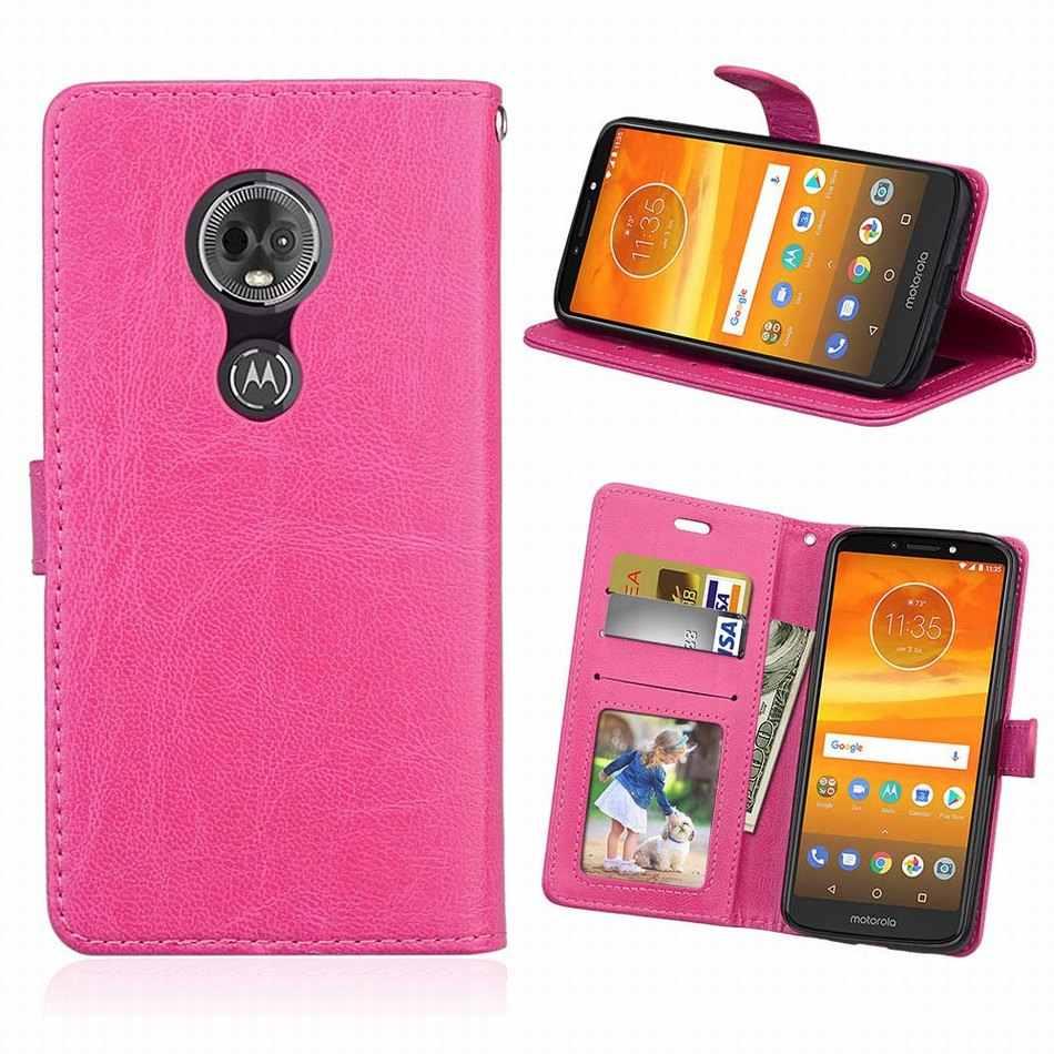 無地革電話ケースモトローラ E5 G5S G6 再生 G7 プラスかわいいバッグモト 1 電源 P30 注フリップ funda キャンディーカラーカバー DP08G