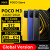 Global Version POCO M3 Smartphone Snapdragon 662 Octa Core 4GB 64GB/128GB 6.53 1