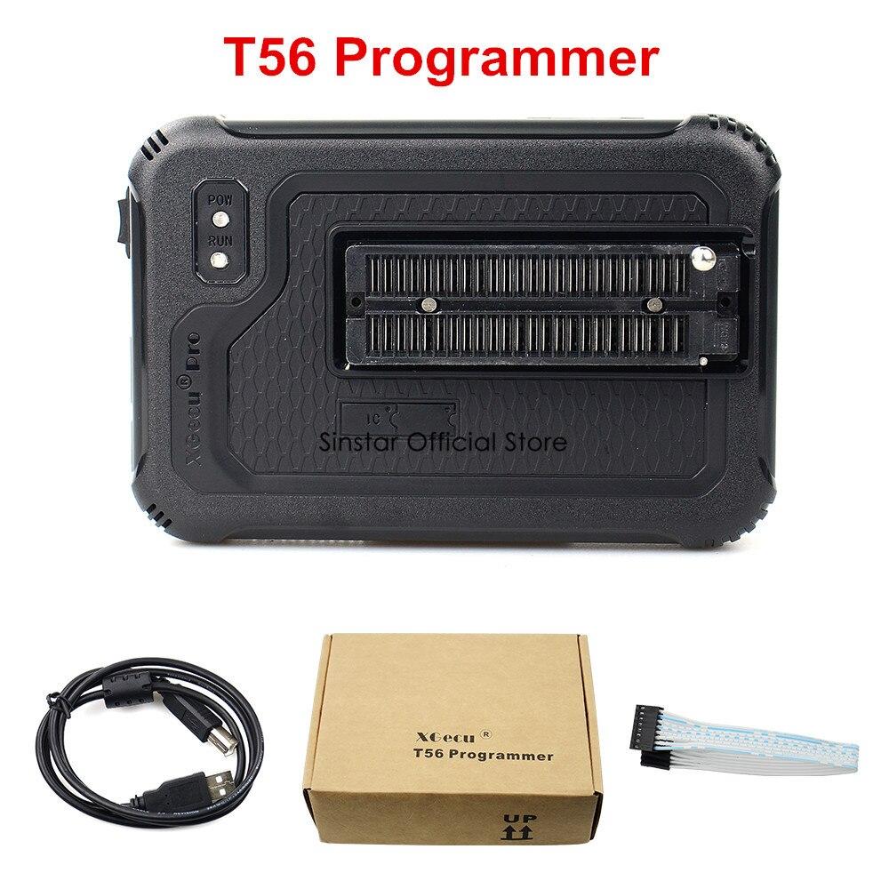 Image 3 - Xgecu t56 programador 56 pinos isp suporte 21000 + com 22 adaptadoresCalculadoras   -