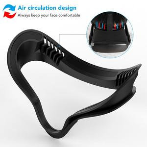 Image 2 - KIWI DESIGN replaced face Cover Set for Oculus Quest,  5in1 Oculus Quest accesses facial interface Bracket with lens cover