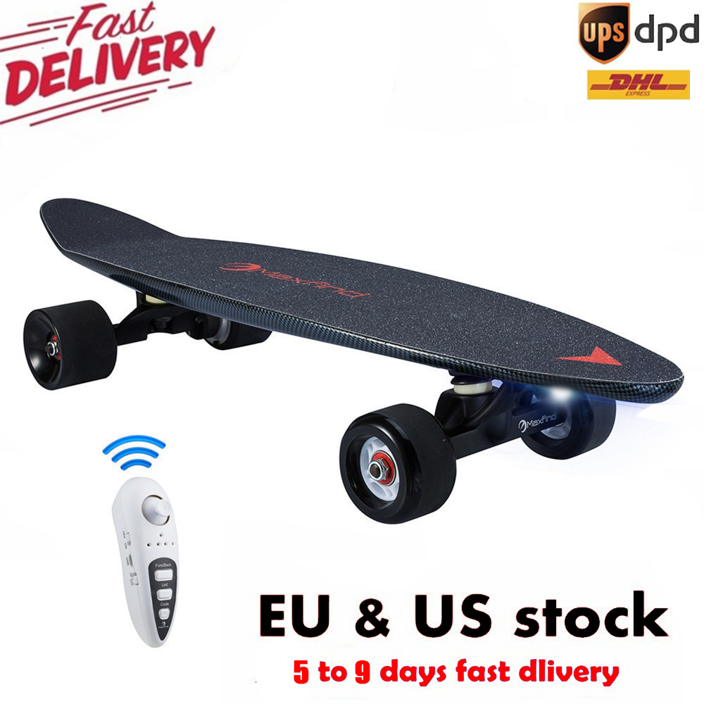 Longboard Electric Skateboards Diy Kit 27 Inch 20km/h With Wireless Remote Controller Waterproof Skate Skateboard Electric 500 W