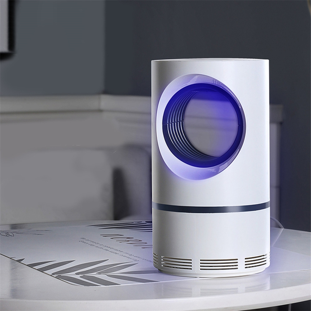 2019 Mosquito Killer USB Electric Mosquito Killer Lamp Photocatalysis Mute Home LED Bug Zapper Insect Trap Radiationless