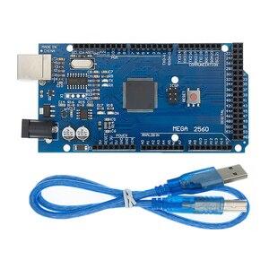 Image 1 - 20 ชุด MEGA 2560 R3 Mega2560 REV3 20pcs ATmega2560 16AU + 20pcs สาย USB