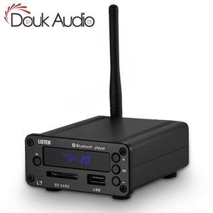 Image 1 - Douk audio HiFi Bluetooth 5,0 Decoder APE Verlustfreie Musik Audio Player Mini Pre Verstärker Unterstützt U Disk SD FM Radio