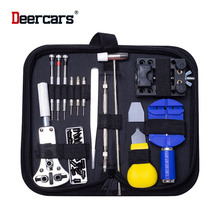 Free Shipping Watch Repair Kit Set Fix Tools 15pcs Combo Dismantle Change Battery Open Cover Operation