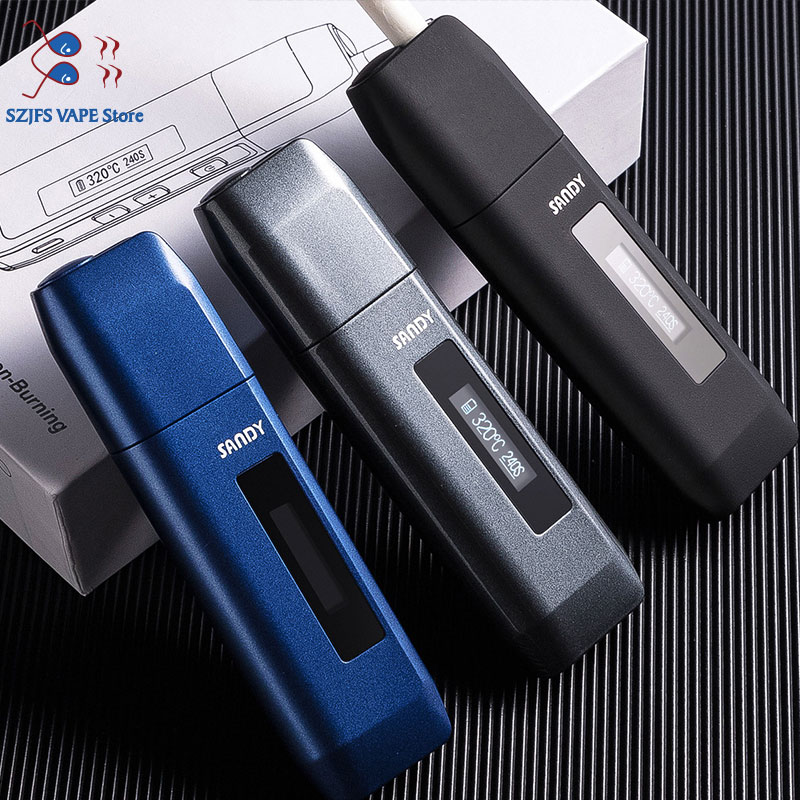TOBA 3.0 Heating Vape Pen Kit 900mAh Led Electronic Cigarette For Heating Tobacco Dry Herb Cartridge Compatibility GS Toba 2.0