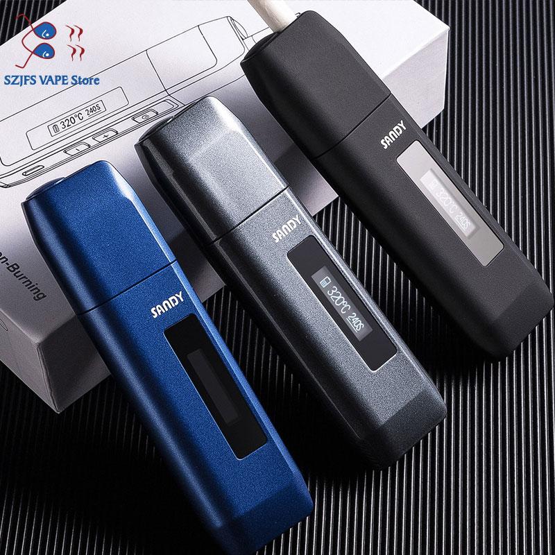 TOBA 3.0 Heating Vape Pen Kit 900mAh Led Electronic Cigarette For Heating Tobacco Dry Herb Cartridge Compatibility GS Toba 2.0