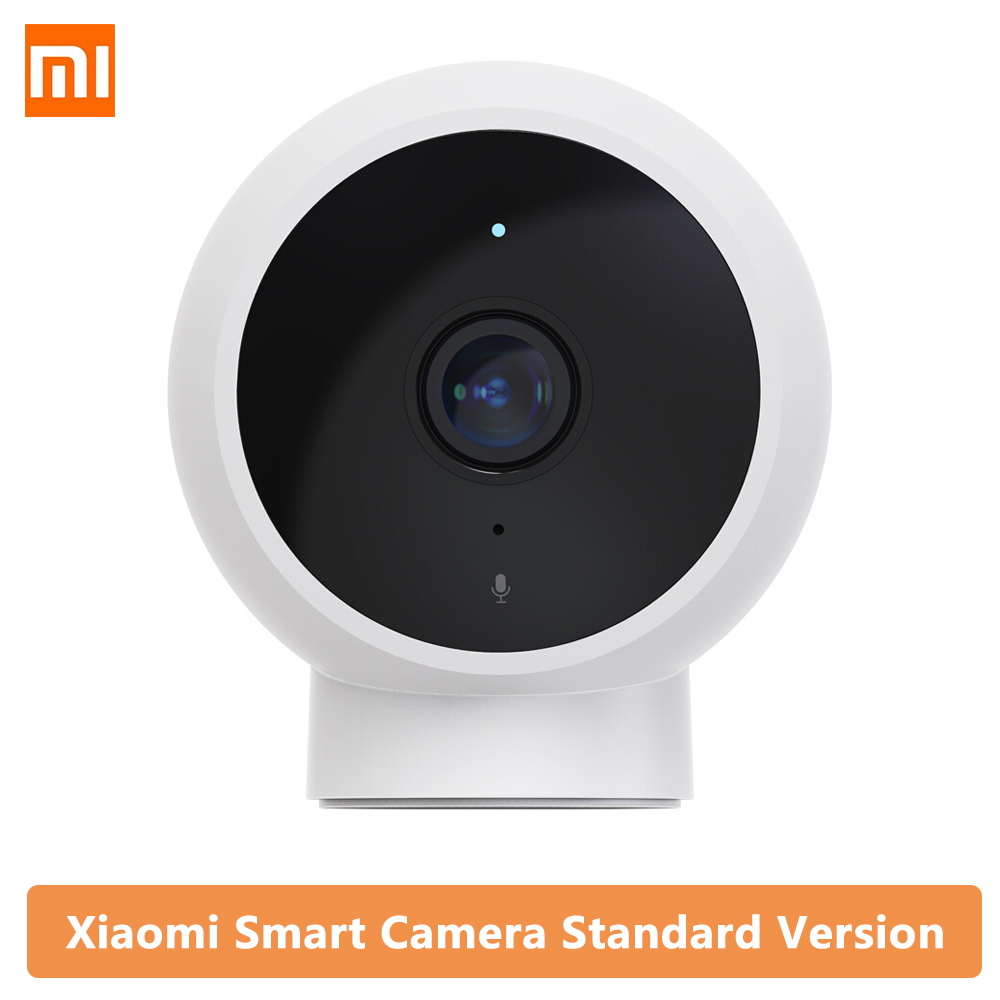 2020 Original Xiaomi Mijia New 1080P IP Camera 170 Degree FOV Night Vision 2.4Ghz Dual-band WiFi Mi Home Kit Security Monitor(China)