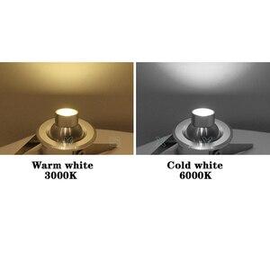 Image 5 - 1 واط/3 واط LED الأبيض/الدافئة الأبيض التيار المتناوب 85 265 فولت مصباح صغير جزءا لا يتجزأ Led النازل دولاب ملابس مع خزانة مجوهرات بداخله مصباح LED مصباح صغير الأضواء