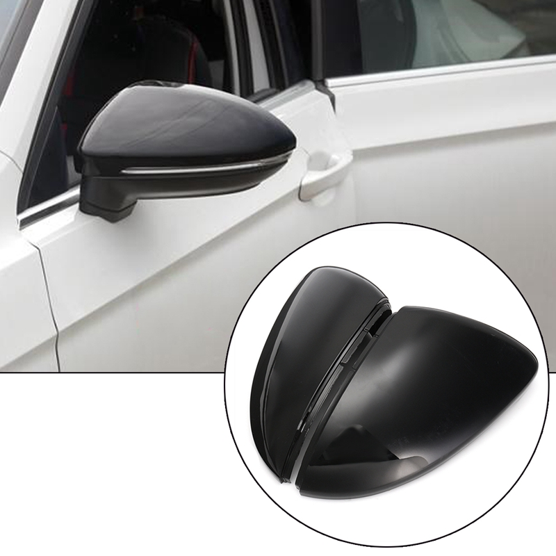 2pcs Car Left And Right Rearview Mirror Housing Cover For Volkswagen Golf 7