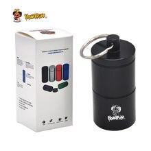 COURNOT Stash Jar-Luftdichten Geruch Proof Aluminium Kraut 2 Schichten Container Spice Fall Tabak Box