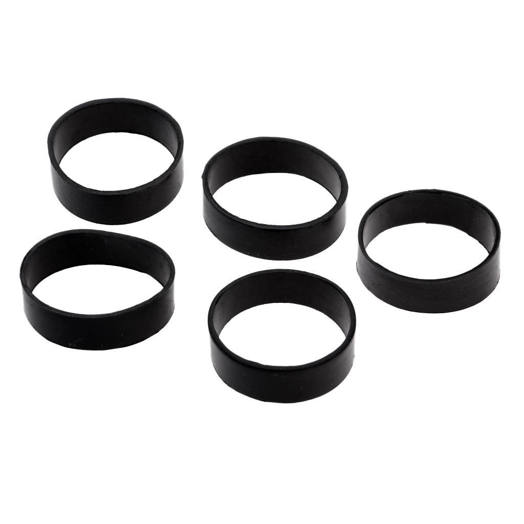 5X Scuba Diving Weight Belt Underwater Dive Tank Backplate Strap Rubber Ring