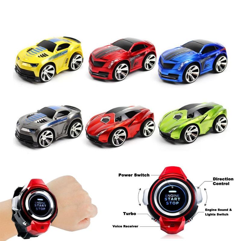 novo 1 28 controle remoto carro de brinquedo de corrida carro de voz relogio inteligente voz