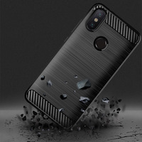 Funda de silicona para Xiaomi Mi A2 lite, funda de carbono a prueba de golpes para Xiaomi Mi A1 A2lite
