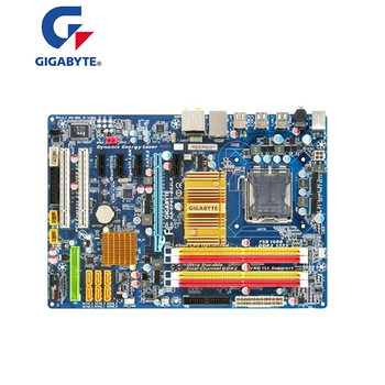 For GIGABYTE GA-EP45-DS3LR P45 Motherboard LGA 775 DDR2 16GB For Intel EP45-DS3LR Desktop Mainboard SATA II PCI-E X16 Used
