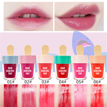 NOVO Vivid Lip Tint Water Fruitee Lip Stain Lip Gloss Non-Stick Cup Liquid Lipstick 24H Long Lasting цена