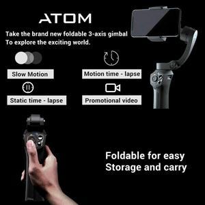 Image 2 - Snoppa Atom כיס בגודל מתקפל 3 ציר Smartphone כף יד Gimbal מייצב w/פוקוס למשוך & זום עבור iPhone 11 פרו XS מקסימום