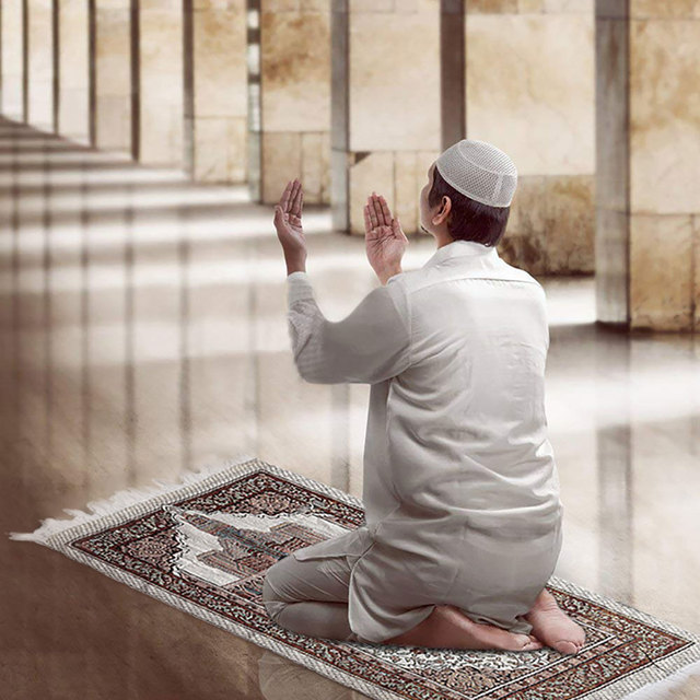 Tapis de prière musulmane Portable 1 pièce