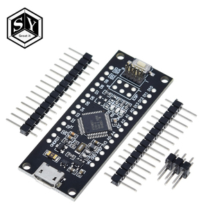 SAMD21 M0-Mini. 32-bit ARM Cortex M0 core. Pins UnSoldered. Compatible with Arduino Zero, Arduino M0. Form Mini.(China)