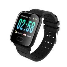 A6 Smart Band reloj inteligente pulsometro Watch Fitness Tracker Bracelet IP67 Waterproof Wristband Men