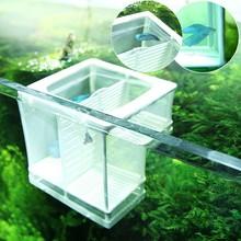 High Quality Aquarium Fish Tank Breeding Breeder Isolation Box Hatchery Grow Seedlings Reproduction Holder Useful