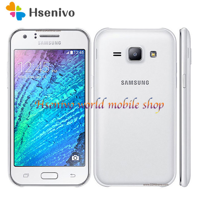 """Samsung Galaxy J1 J100 cell phone Android 4GB ROM Wifi GPS Quad Core 4.3"""" touch screen mobile phone"""