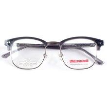 איטליה בעבודת יד אצטט משקפיים עבור גברים קוצר ראייה משקפיים מסגרות