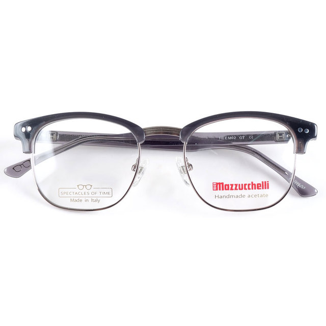 Gafas de acetato hechas a mano de Italia para hombres monturas de gafas de miopía