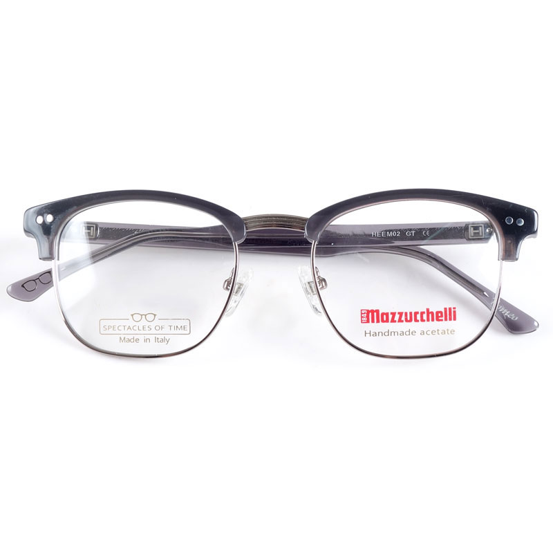 Italy handmade acetate spectacles for men myopia glasses frames-in Men's Eyewear Frames from Apparel Accessories