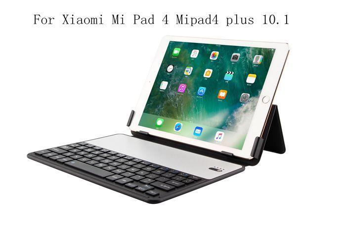 Étui en cuir pour support pour Xiao mi Pad 4 Plus mi Pad 4 10 Plus 10.1 pouces Bluetooth claviers détachable sans fil + cadeaux