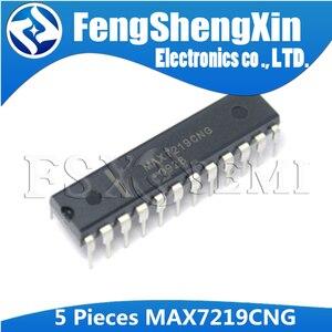 Image 2 - 5 uds. MAX7219CNG DIP 24 MAX7219CWG MAX7219EWG MAX7219 SOP 24 controladores de pantalla LED IC