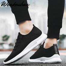 Mens Shoes Casual Sneakers Men Black Breathable Shoes Fashion Slip On Light Summer Shoes Tenis Masculino Adulto Mocassin Homme(China)